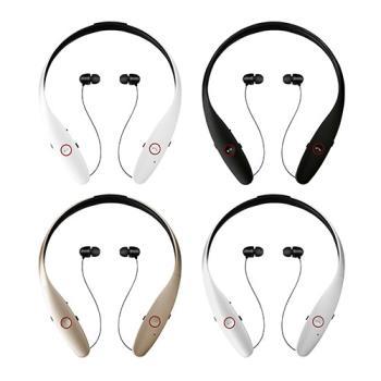 【IS愛思】X-900伸縮式耳麥藍牙運動耳機