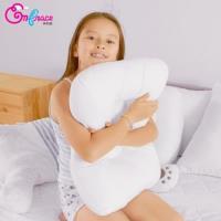 《Embrace英柏絲》可水洗 人體工學 蝶型枕 表布柔軟升級 MIT台灣製造(可以洗的枕頭)
