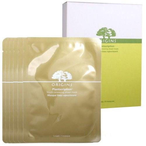 ORIGINS 品木宣言 駐顏有樹緊緻抗痕面膜6片盒裝