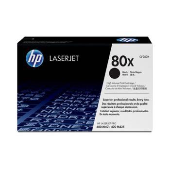 《印象深刻3C》HP CF280X 原廠高容量黑色碳粉匣 適用 LJ M401/M425