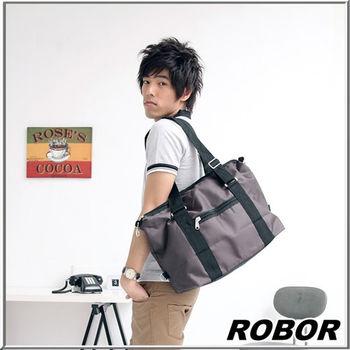 MAKSIM 百搭輕便風格旅行袋側背包 / 手提包(826中咖)