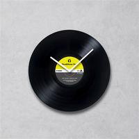 HeadphoneDog手工黑膠唱片時鐘(普普簡約款)-行動