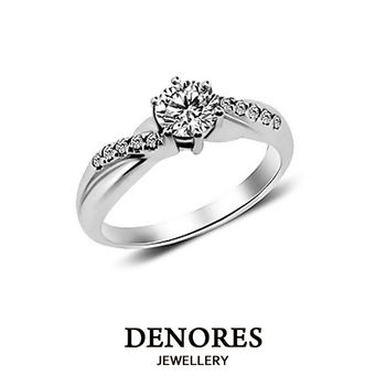 DENORES Desire GIA F/VS2/0.50克拉鑽戒