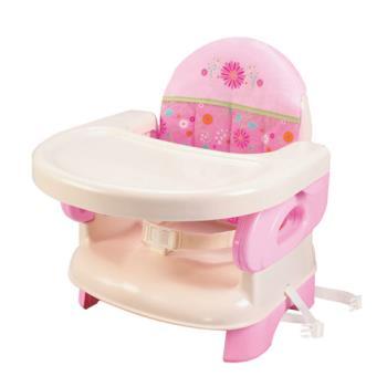 【美國Summer Infant】可攜式活動餐椅(粉紅)-行動