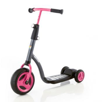 【德國KETTLER】幼童平衡學習滑板車-淑女粉