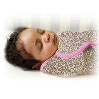 【美國Summer Infant】聰明懶人育兒包巾-粉紅豹(加大)-行動