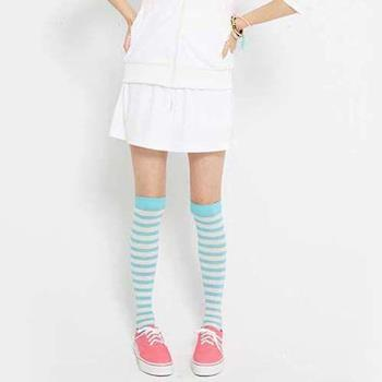 【TOP GIRL】輕透感抽皺剪接短裙-白