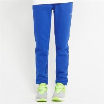 【TOP GIRL】縮口羅紋長褲(藍紫色)