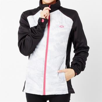 【TOP GIRL】拼接立領長版羽絨外套(黑)