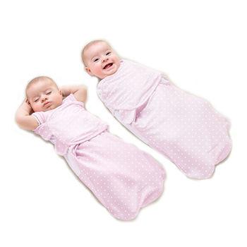 【美國Summer Infant】2合1聰明懶人育兒睡袋-加大(粉紅甜心)-行動