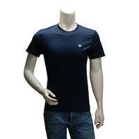 DIOR 經典蜜蜂刺繡LOGO 純棉短袖圓領T恤(深藍)