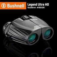 【美國 Bushnell 倍視能】Legend Ultra HD 傳奇系列 10x26mm 專業級防水雙筒望遠鏡 #190126 (公司貨)
