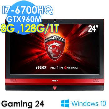 MSI 微星 Gaming24 6QE-014TW 24吋 i7-6700HQ 獨顯GTX960M 電競AIO 桌上型電腦