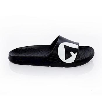 【美國 AIRWALK】輕盈舒適中性EVA休閒多功能室內外拖鞋 -男女款-黑