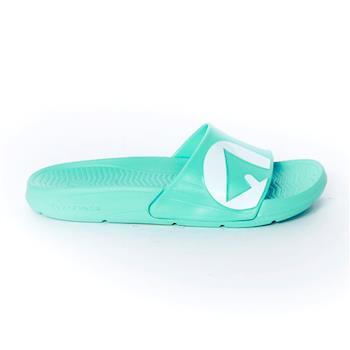 【美國 AIRWALK】輕盈舒適中性EVA休閒多功能室內外拖鞋 -男女款-湖水藍