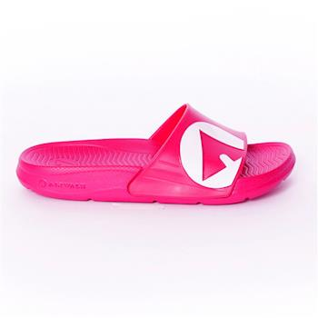 【美國 AIRWALK】輕盈舒適中性EVA休閒多功能室內外拖鞋 -女款-桃紅