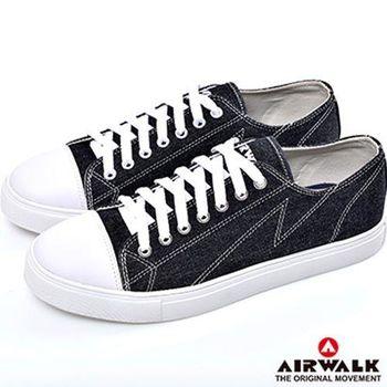【美國 AIRWALK】經典簡約車逢線多色低筒帆布鞋-男女同款(共五色)