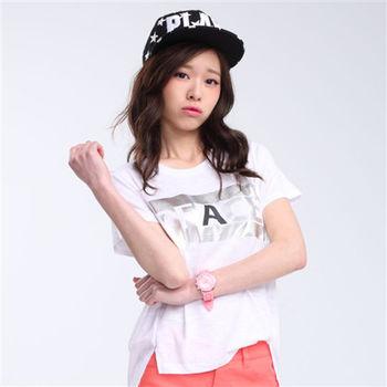 【TOP GIRL】PEACE個性造型T恤 -共二色