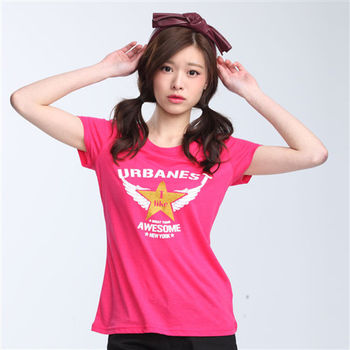 【TOP GIRL】美式印花T恤 -共三色