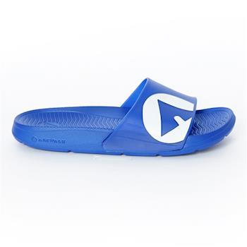【美國 AIRWALK】輕盈舒適中性EVA休閒多功能室內外拖鞋 -男女款-中藍