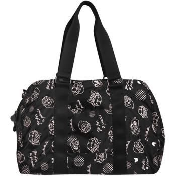 ETTUSAIS 艾杜紗 ettusais x Ghost Shop 聯名黑色旅行提袋