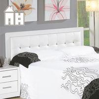 【AT HOME】亞斯5尺白色水鑽雙人床頭片(不含床底、床墊)