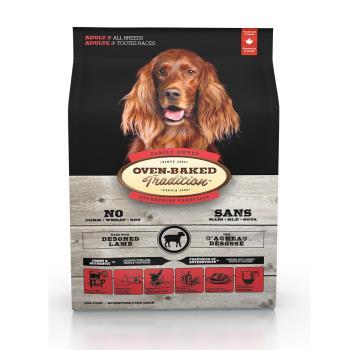 Oven-Baked 烘焙客 成犬羊肉糙米口味 狗飼料 12.5磅*1包 大顆粒