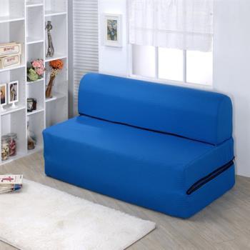 【莫菲思】相戀-彈簧折疊式沙發床-雙人(三色)