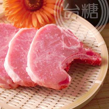 台糖肉品 整箱送府 帶骨里肌豬排4包/箱   (3kg量販包)