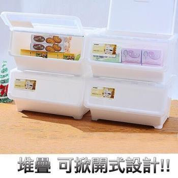 【將將好收鈉】超大雙開直取式整理箱-50L(4入組)