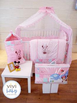 ViVibaby 新手爸媽45件特賣組-推車+汽座+床寢組+沐浴組+哺育組+紗布衣組(粉紅/紅/黑)