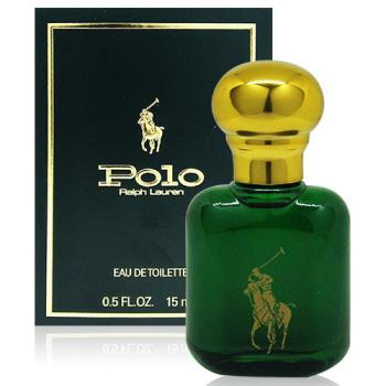 RALPH LAUREN POLO 綠色馬球男性淡香水 15ml