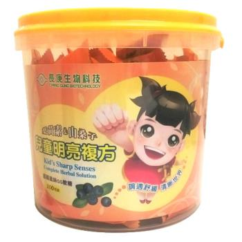 長庚生技 兒童明亮複方QQ軟糖 6桶 (100粒/桶)