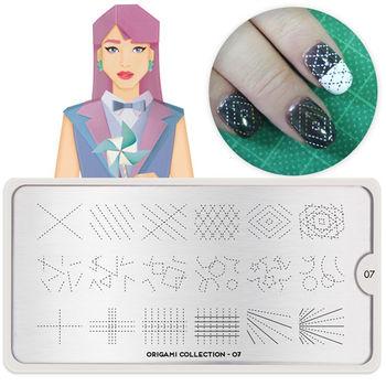 MoYou指彩印花 Origami日式褶紙系列(2款可選)
