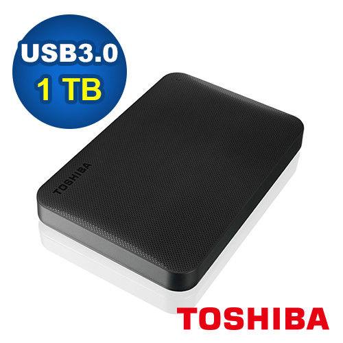 Toshiba Canvio Ready 1TB USB3.0 2.5吋行動硬碟-HDTP210AK3AA 黑