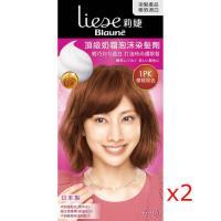 莉婕 頂級奶霜泡沫染髮劑 1PK櫻桃棕色(2入)