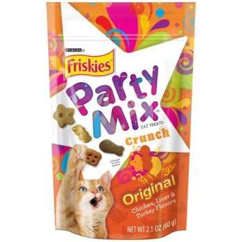 Friskies 喜躍 Party Mix經典原味香酥餅60公克12包