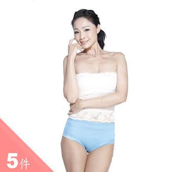 5入組 闕蘭絹 首款無痕6A級純蠶絲褲