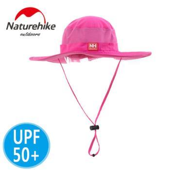 【Naturehike】UPF50+經典款速乾透氣漁夫帽/遮陽帽/防曬帽(粉色)