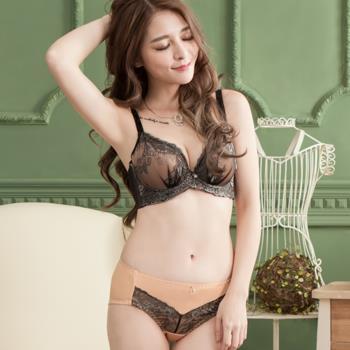【蘇菲娜】蠶絲深V低脊心內衣親膚柔軟舒適包胸罩3套組(E343)