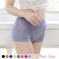 Pink Lady 親膚蠶絲高腰包臀平口褲 6件組(5312)