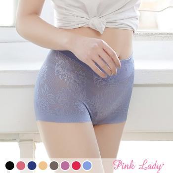 【PINK LADY】 優質肌膚首選 蠶絲高腰包臀平口褲 5312 (6件組)
