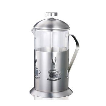 【妙管家】特級不鏽鋼沖茶器/泡茶器700ml HKP-700-行動