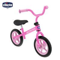 【買就送玩具+濕紙巾】chicco-幼兒滑步車-粉色