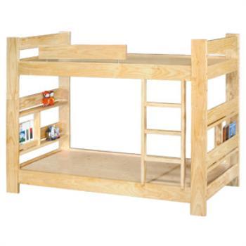【顛覆設計】松木3.5尺雙層床(加長型)
