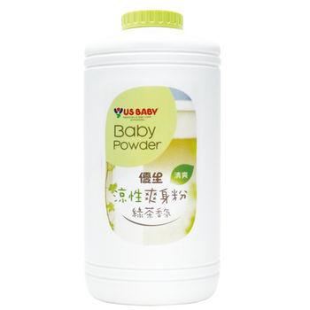 任-優生涼性爽身粉-綠茶香氛300g