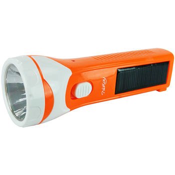 NAKAY太陽能國際電壓雙充電式80流明LED手電筒(NLED-103)