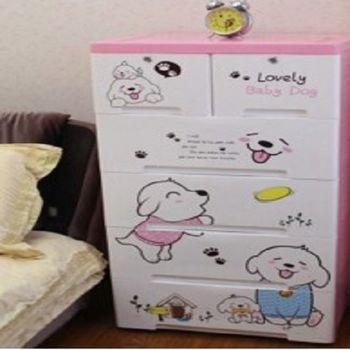 【協賀】嬰兒衣櫃多層抽屜收納櫃儲物櫃
