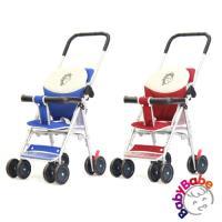 babybabe 輕便型附睡墊手推車/機車椅