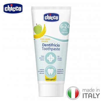 任-chicco-兒童木醣醇含氟牙膏(蘋果香蕉)50ml